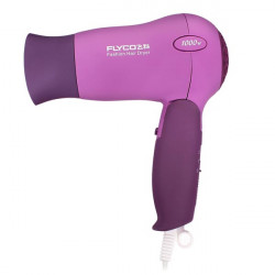 1000W FLYCO FH6008 Folding Hair Dryer Matte Purple