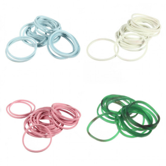 1000pcs Color Mix Elastic Hair Band Small Rubber Bands 2021