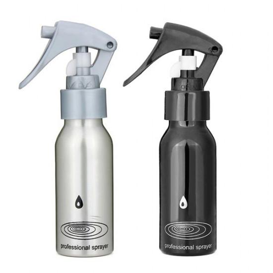 100ML Aluminum Watering Spray Bottle Hairdressing Tool 2021