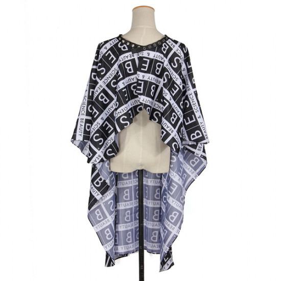 2Style Button-Down Barbers Hair Cutting Cape 2021