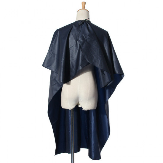 Blue Waterproof Adults Salon Hair Cutting Cloth Hairdressing Cape 2021