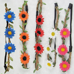 Boho Style Floral Flower Festival Beach Party Hairband Headband