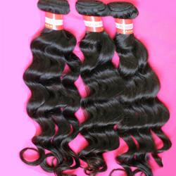 Brazilian Big Loose Wave Virgin Real Human Hair Piece Extension