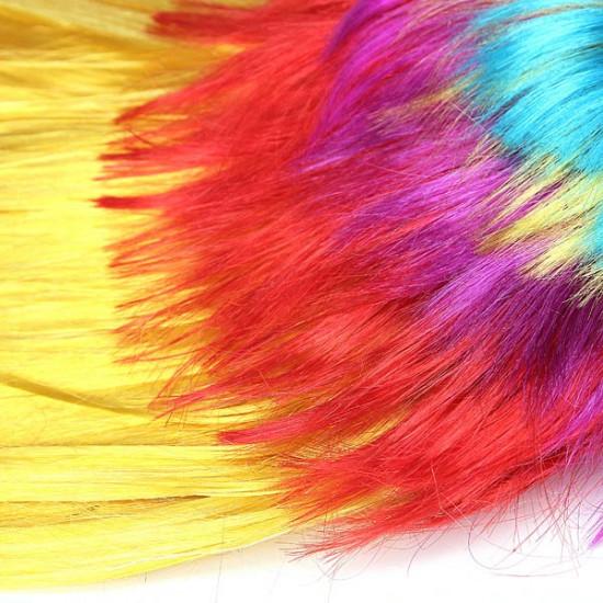 Colorful Carnival Mohawk Wig Fancy Party Mohican Rocker Wigs 2021