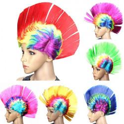 Colorful Carnival Mohawk Wig Fancy Party Mohican Rocker Wigs