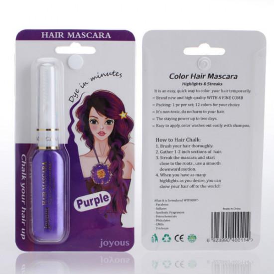 DIY Painting Temporary Hair Coloring Mascara Dye Cream 2021