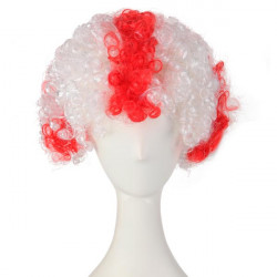 England National Flag World Cup Fans Synthetic Cosplay Party Wigs