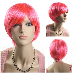Hot Sell Sexy Short Straight Wig For Parties Holiday
