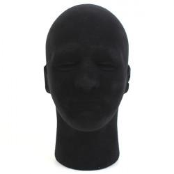Male Styrofoam Foam Mannequin Manikin Head Stand Model Display Wigs