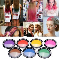 Non-toxic Temporary Hair Coloring Powder Chalk