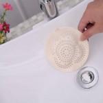 Reusable Bathroom Kitchen Sucker Drain Floor Hair Filter Net Hair Care & Salon