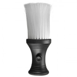Salon Hair Cutting Neck Duster Brush Powder Container