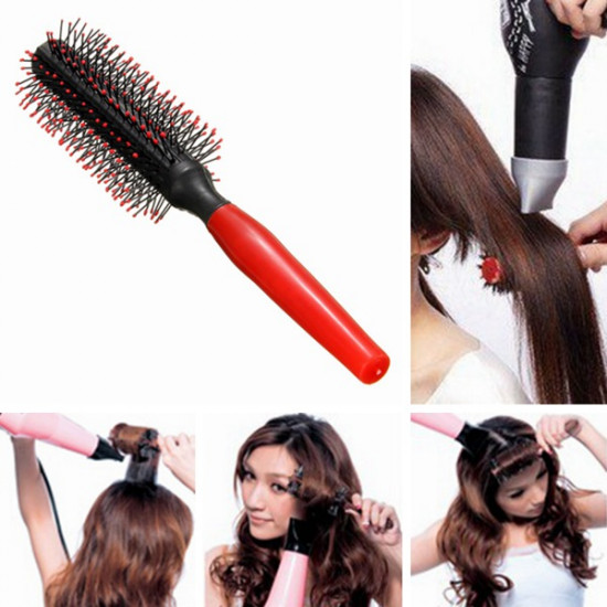 Salon Styling Dressing Curly Comb Round Hair Brush 2021