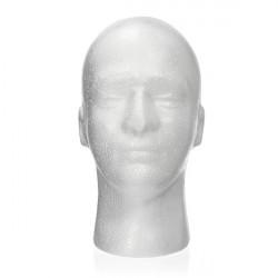 Wig Hat Holder Glasses Male Foam Manikin Head Stand Model Display