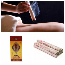 10PCS Tens Years Old Moxa Moxibustion Roll Stick