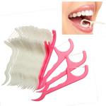25Pcs Dental Flosser Floss Pick Toothpicks Oral Care Health Care
