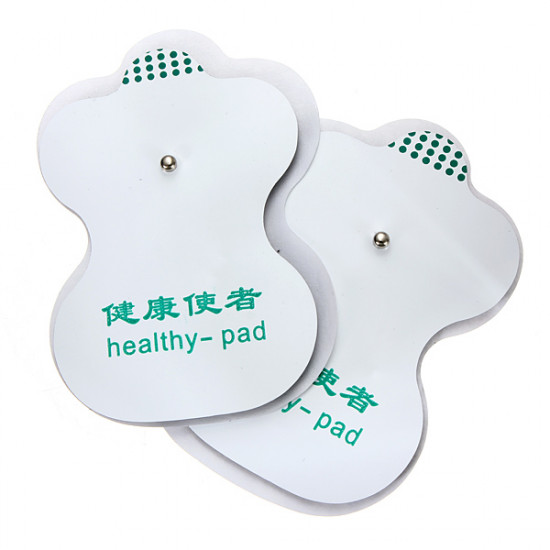 2 Pair Tens Adhesive Electrode Pads For Acupuncture Digital Therapy 2021