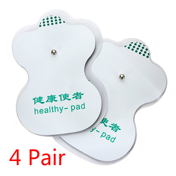 4 Pair Tens Adhesive Electrode Pads For Acupuncture Digital Therapy Health Care