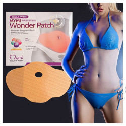 5 Patches Mymi Slimming Sticker Waist Belly Weight Loss Burning Patch