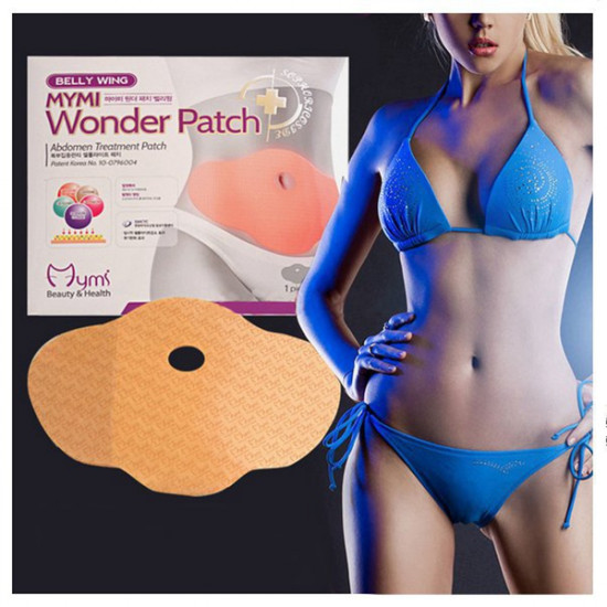 5 Patches Mymi Slimming Sticker Waist Belly Weight Loss Burning Patch 2021