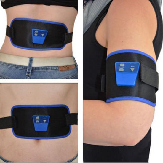 AB Gymnic Electronic Muscle Arm leg Waist Abdominal Massage Slim Belt 2021