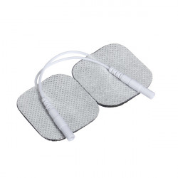 A Pair Of Tens Adhesive Electrode Pads Acupuncture Digital Therapy