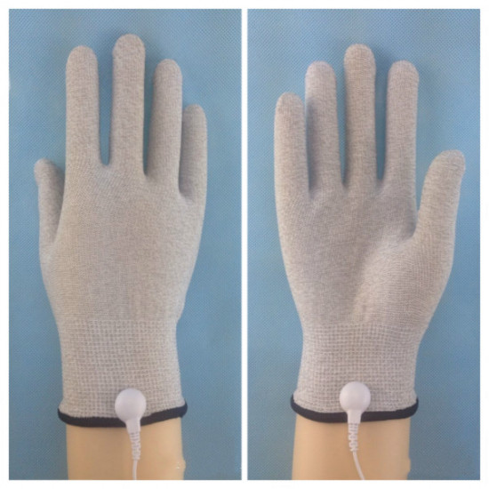 Acupuncture Digital Therapy Massager With Pair Of Electrode Gloves 2021