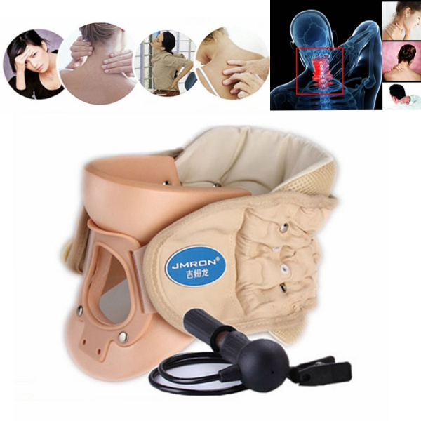 CR-802 Cervical Vertebra Air Traction Neck Brace Therapy Device Health Care