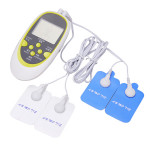Digital Dual Output Electronic Physiotherapy Acupuncture Massager Health Care