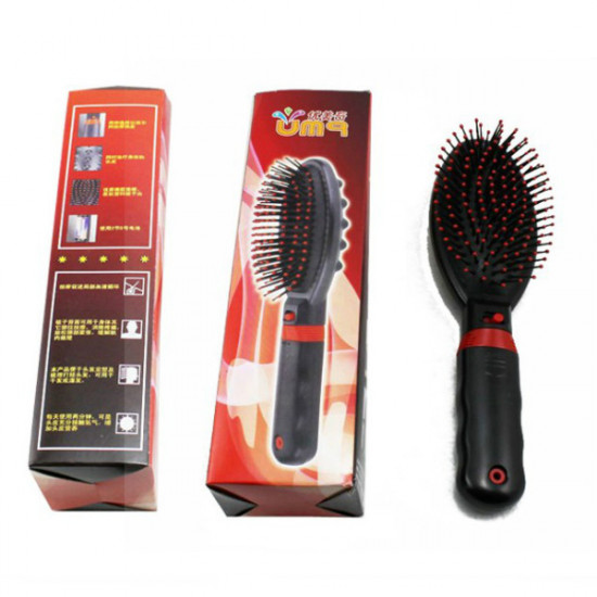 Electric Vibrative Hair And Body Massager Comb Brush 2021