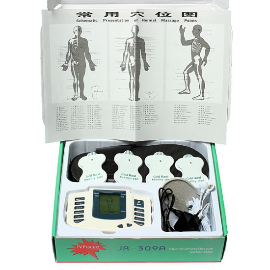 Electronic Digital Full Body Acupuncture Therapy Massager Slipper 2021