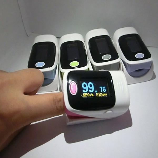 Finger Pulse Oximeter Fingertip Monitor Blood Oxygen SpO2 Monitor