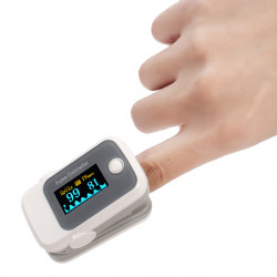 Fingertip Pulse Oximeter SpO2 Blood Oxygen Saturate Heart Rate Monitor