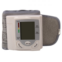 HQ-806 Digital Wrist Blood Pressure Monitor Meter Sphygmomanometer