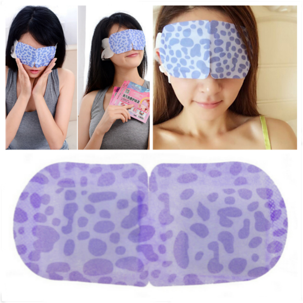 Hot Compress Steam Eye Mask Sleeping Eyeshade Health Care