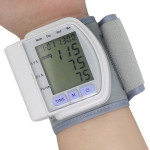 LCD Digital Sphygmomanometer Blood Pressure Monitor Heart Beat Meter Health Care