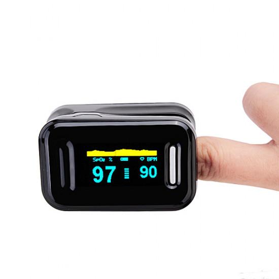 OLED Finger Fingertip Pulse Oximeter Blood Oxygen SpO2 Monitor