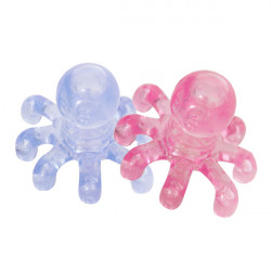 Octopus Shape ABS Head Leg Arm Neck Waist Body Relax Massager