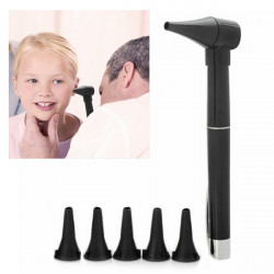Pen Style Professional Ear Care Otoscope Auriscope Diagnostic Set