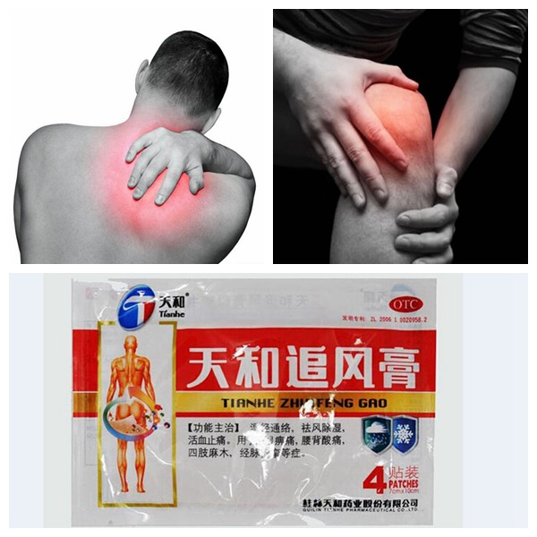 Promote Blood Circulation Rheumatism Arthritis Pain Relief Plaster Health Care