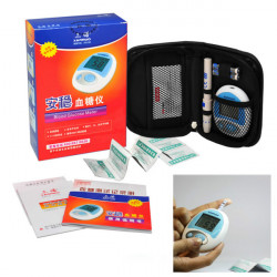 Sannuo SXT Blood Glucose Meter Glucometer Monitoring System