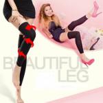 Sleeping Slimming Socks Beautify Leg Shaping Stockings Health Care