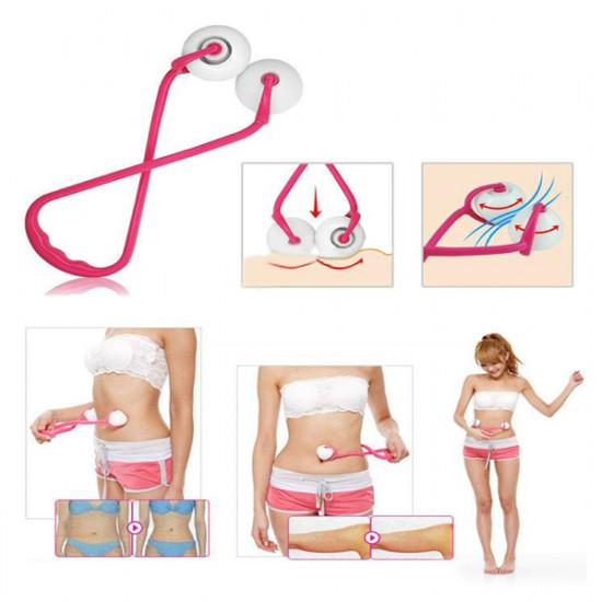 Slim Waist Belly Massager Roller Shape Ball 2021