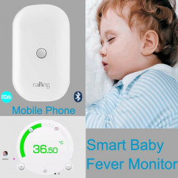 Smart iThermonitor Bluetooth Wireless Baby Fever Monitors Thermometer