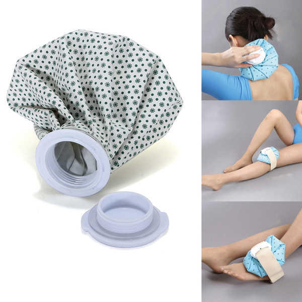 Sport Injury Ice Bag Cap First Aid Muscle Aches Relief Pain Health Care