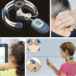 Vibrating Treatment Neck Massager Cervical Vertebra Therapy Instrument
