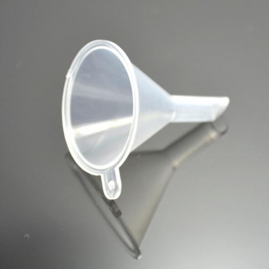 10Pcs Mini Clear Plastic Perfume Liquid Oil Bottle Funnels 2021