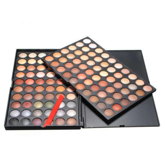 120 Colors Eyeshadow Palette Makeup Case Eye Cosmetic Set 2021