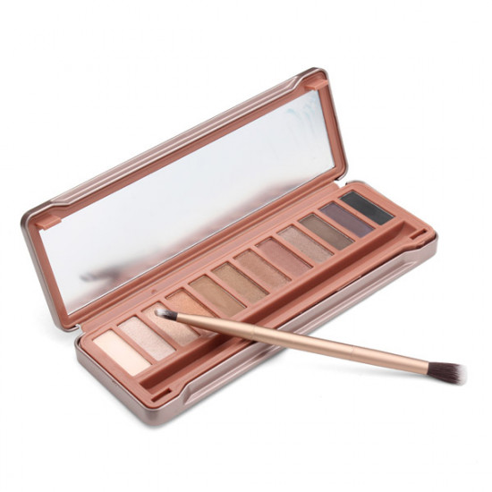 12 Colors Long-lasting Ultra-smooth Brush Naked Eye Shadow Palette 2021