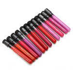 12pcs Color Mini Round Bottle Makeup Cosmetic Lip Gloss Makeup